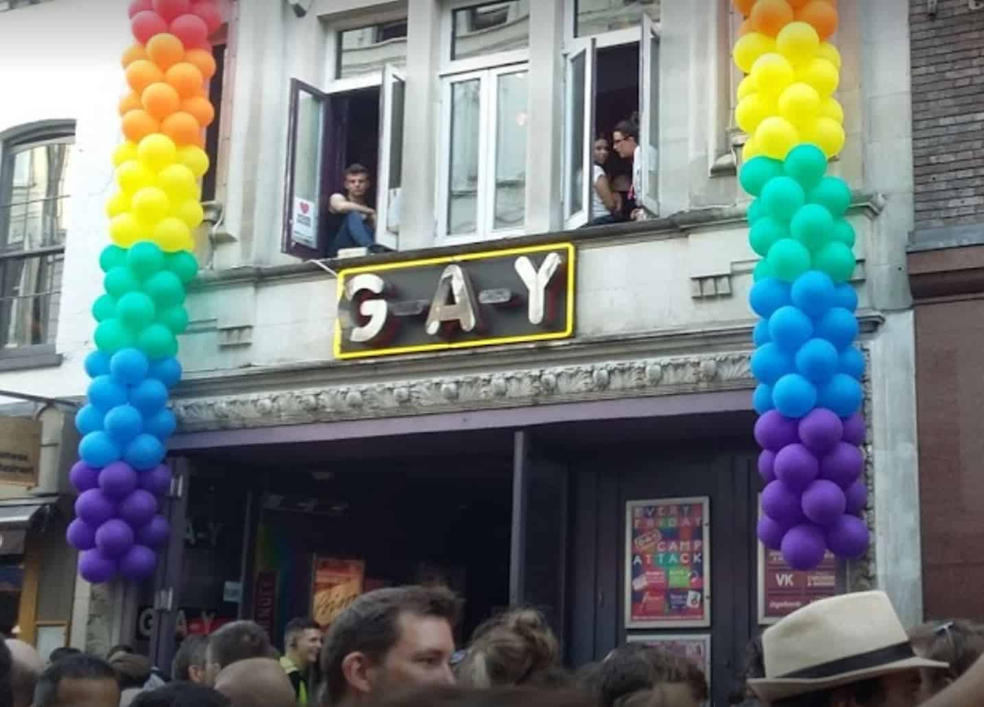 TravelGay recommendation G-A-Y Bar