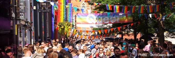 Gay Parties and Events in Manchester