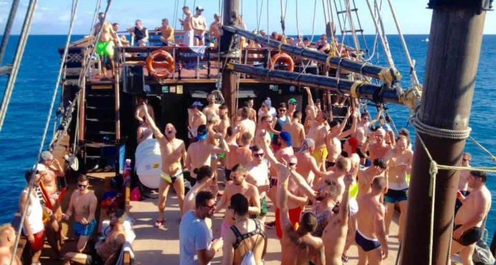 TravelGay recommendation Bottoms Up Gay Boat Party