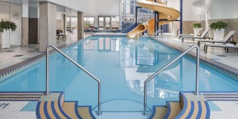 Gay-Friendly Accommodations Calgary Sheraton Suites Eau Claire Canada