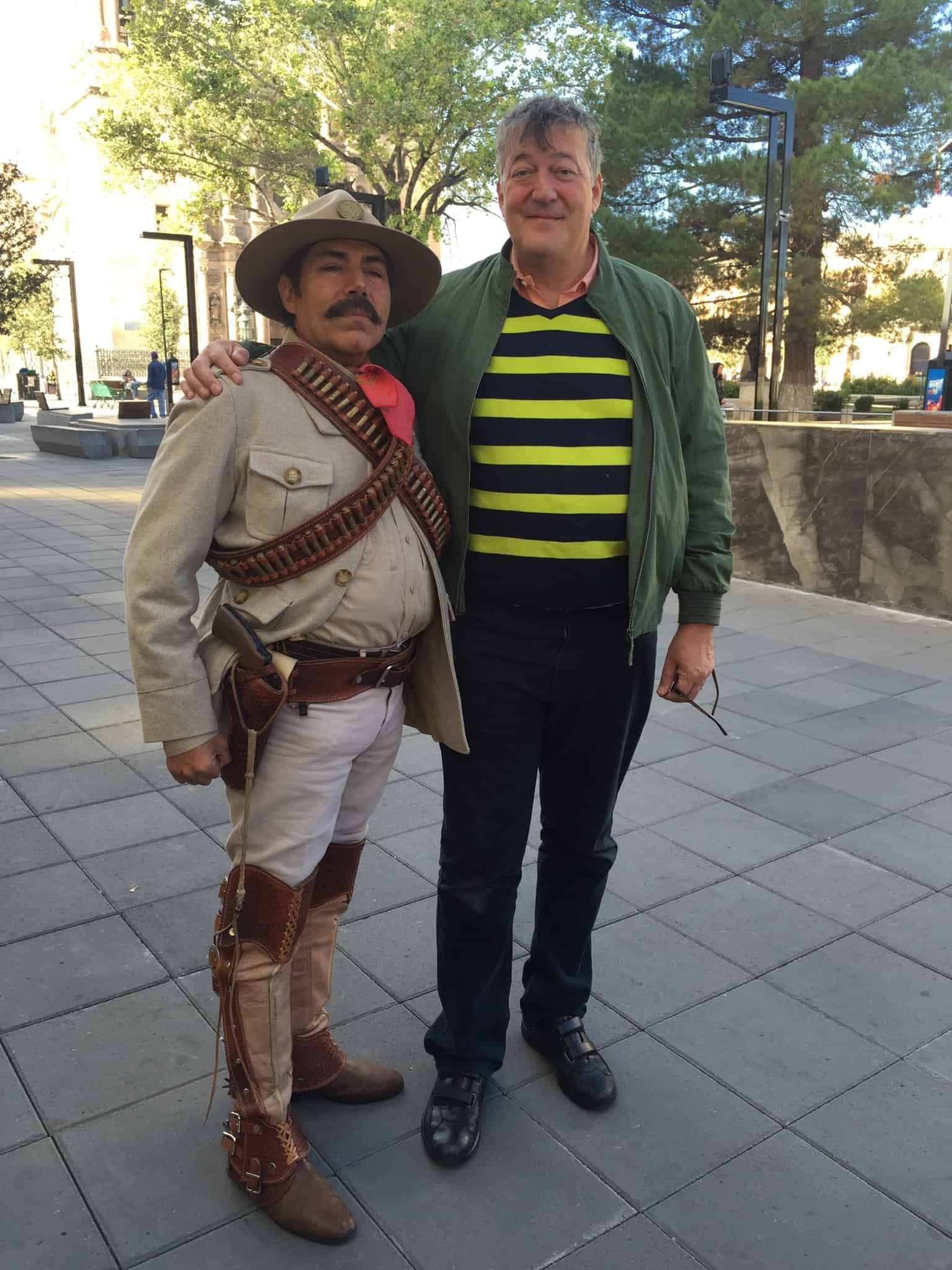 Stephen Fry in South America