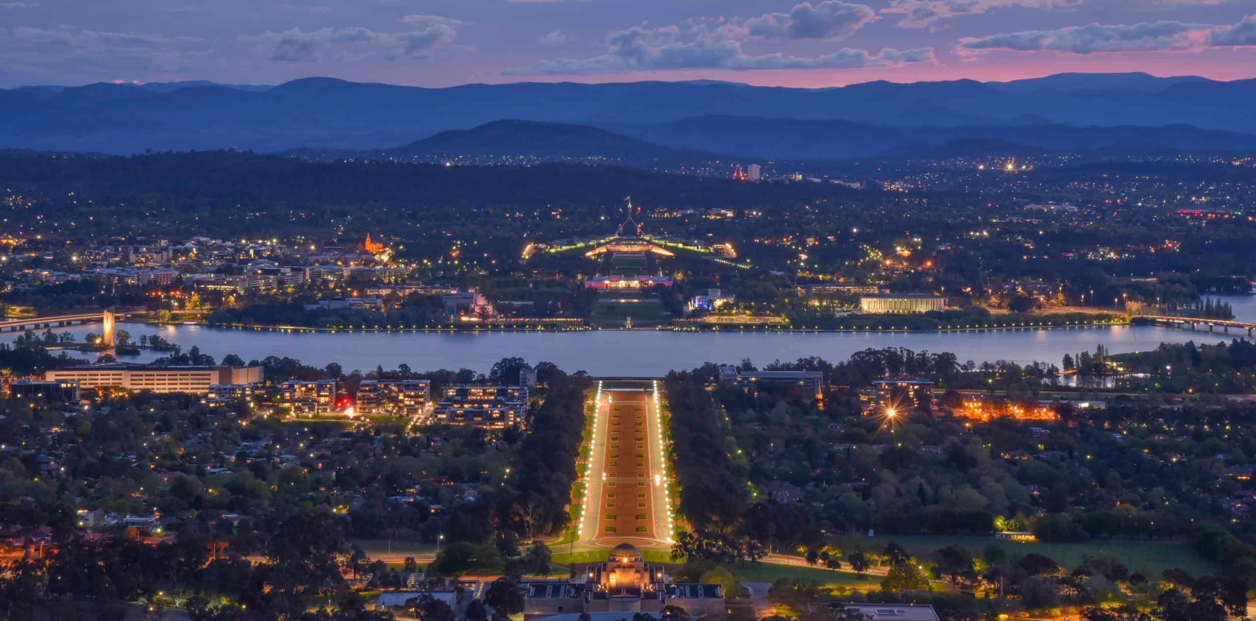 Canberra Gay Map